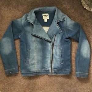 Osh Kosh B'Gosh Girl's soft denim jean jacket